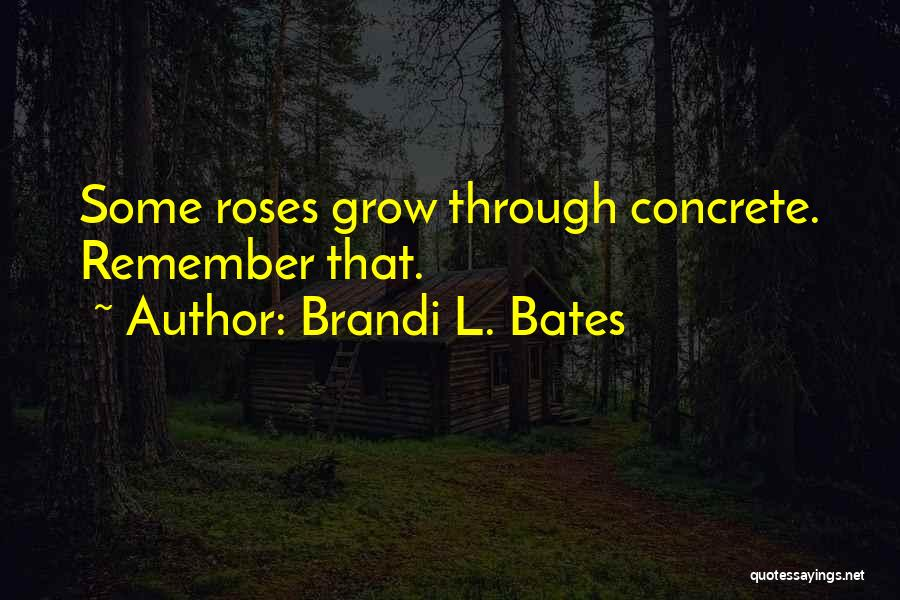 Struggle And Hustle Quotes By Brandi L. Bates