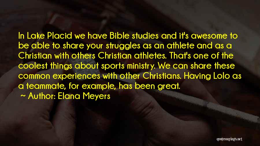 Struggles In The Bible Quotes By Elana Meyers