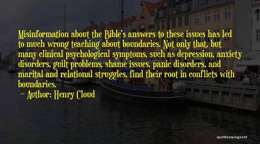 Struggles In The Bible Quotes By Henry Cloud