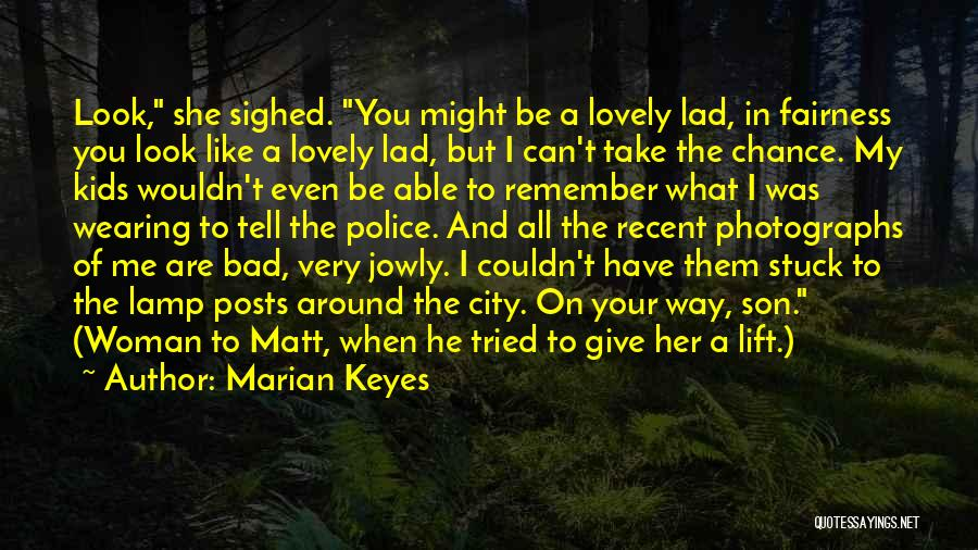 Stuck Like Quotes By Marian Keyes