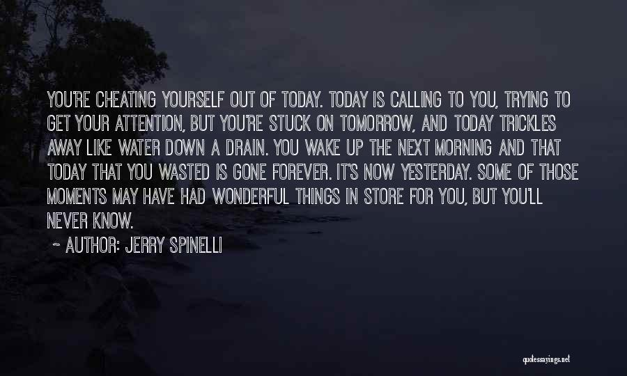 Stuck Up Quotes By Jerry Spinelli
