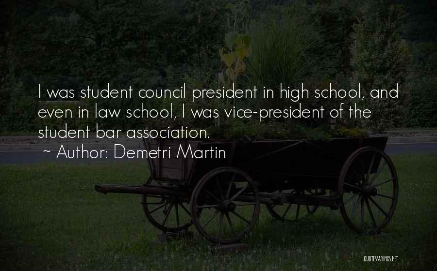 Top 5 Quotes & Sayings About Student Council President