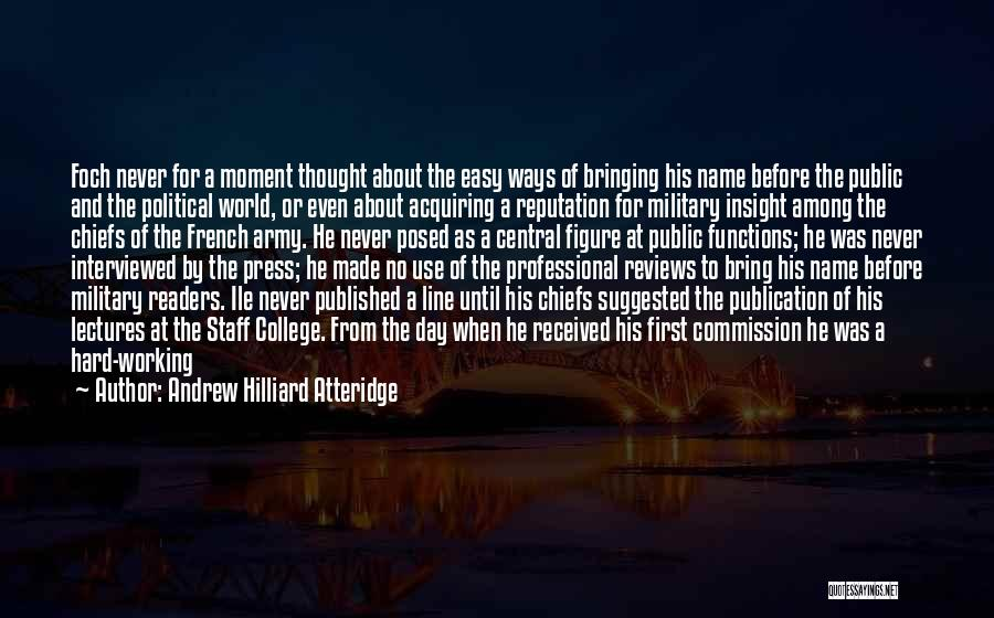 Student Success Quotes By Andrew Hilliard Atteridge