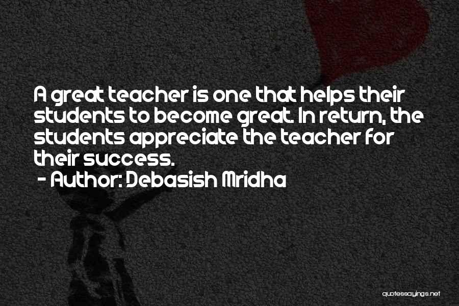 Student Success Quotes By Debasish Mridha