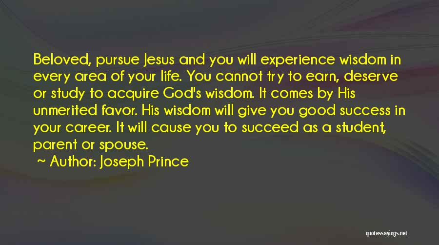 Student Success Quotes By Joseph Prince