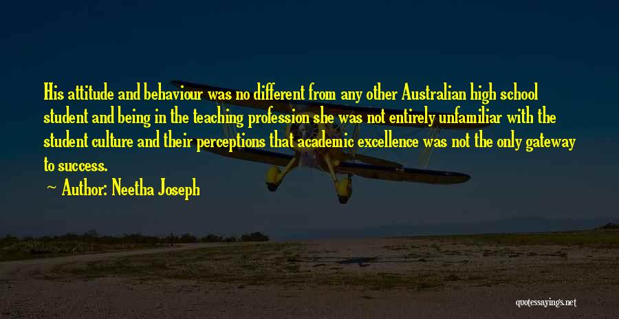 Student Success Quotes By Neetha Joseph