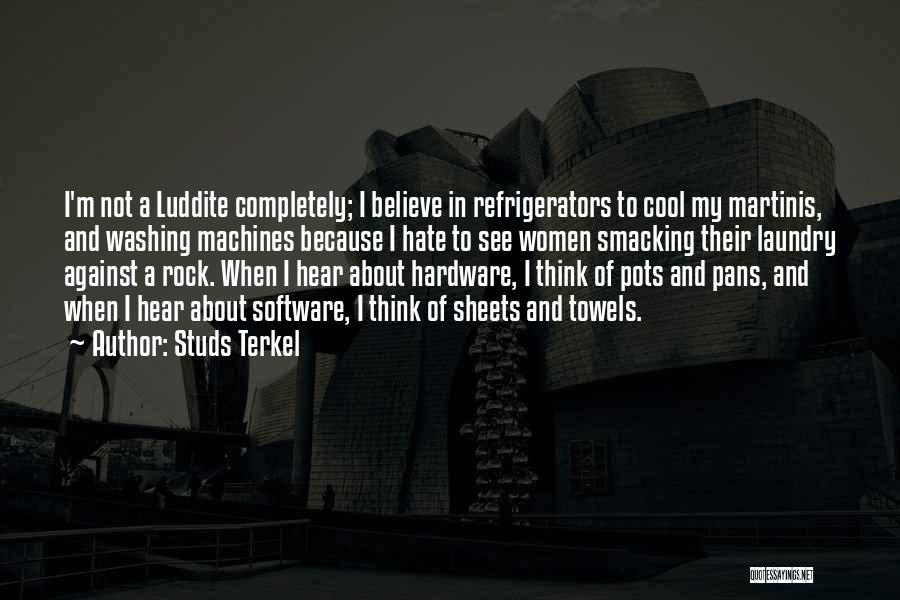 Studs Terkel Quotes 246661