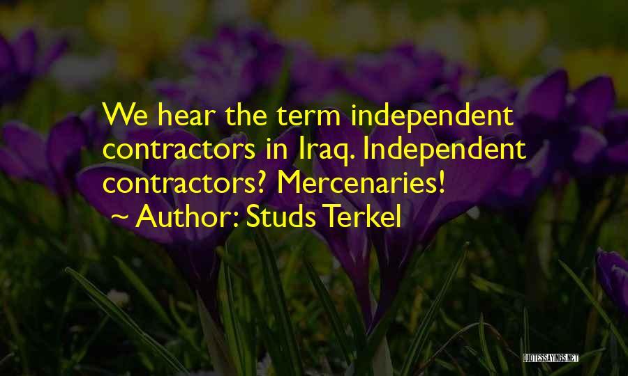 Studs Terkel Quotes 597988