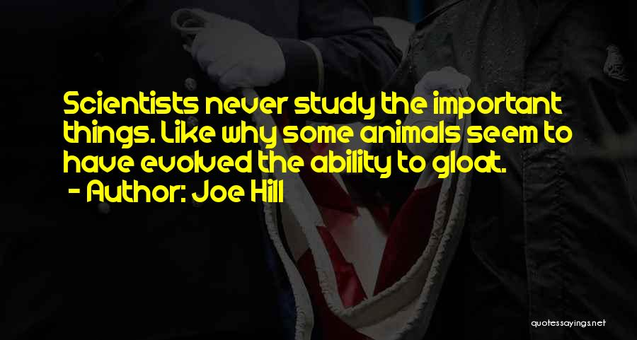 Study Is Very Important Quotes By Joe Hill