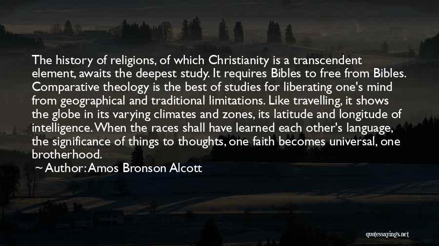 Study Of History Quotes By Amos Bronson Alcott