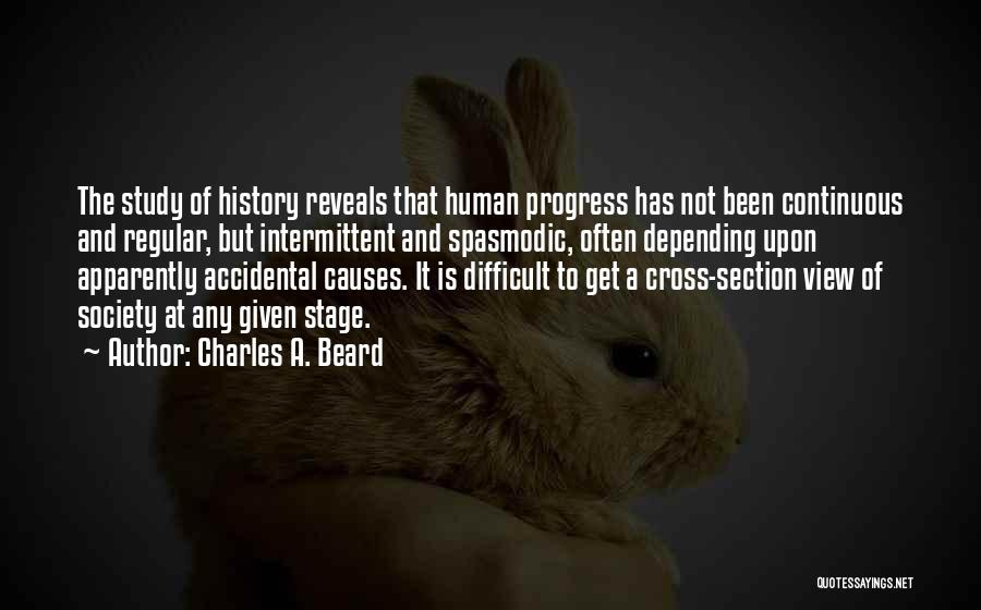 Study Of History Quotes By Charles A. Beard