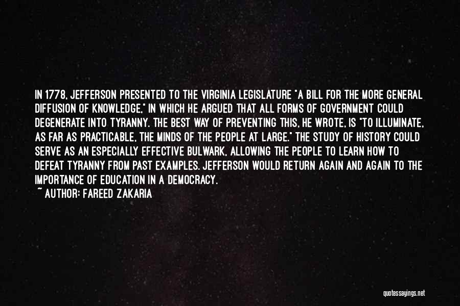 Study Of History Quotes By Fareed Zakaria