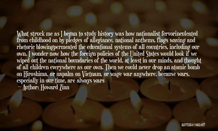 Study Of History Quotes By Howard Zinn