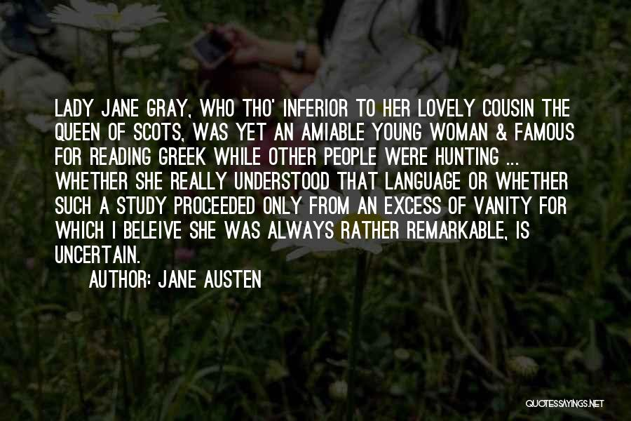 Study Of History Quotes By Jane Austen