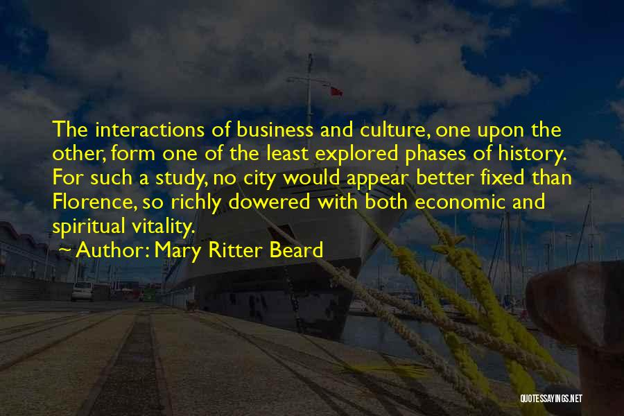 Study Of History Quotes By Mary Ritter Beard