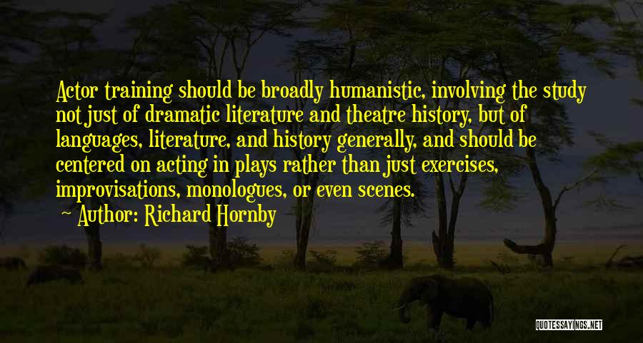 Study Of History Quotes By Richard Hornby