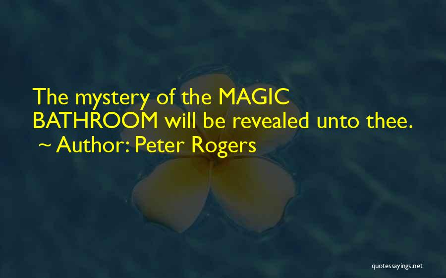 Study Strategies Quotes By Peter Rogers