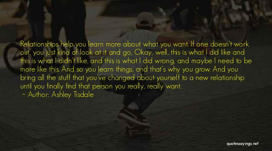 Stuff Going Wrong Quotes By Ashley Tisdale