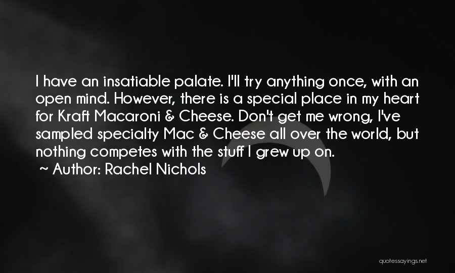 Stuff Going Wrong Quotes By Rachel Nichols