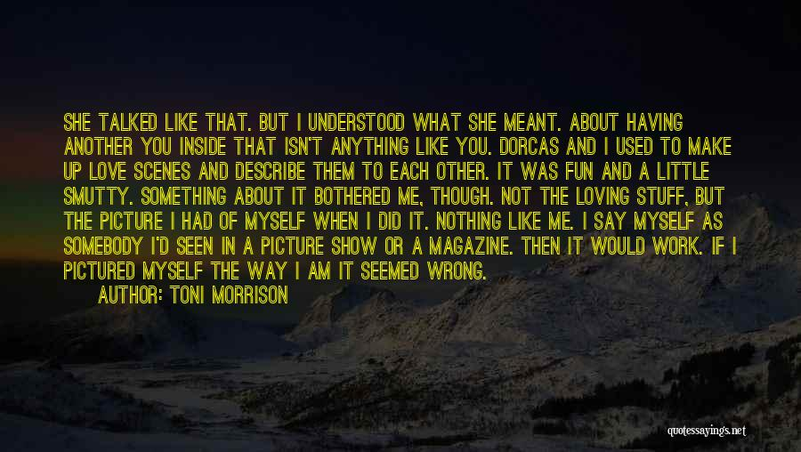 Stuff Going Wrong Quotes By Toni Morrison