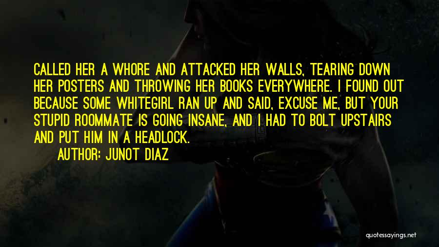 Stupid But Funny Quotes By Junot Diaz