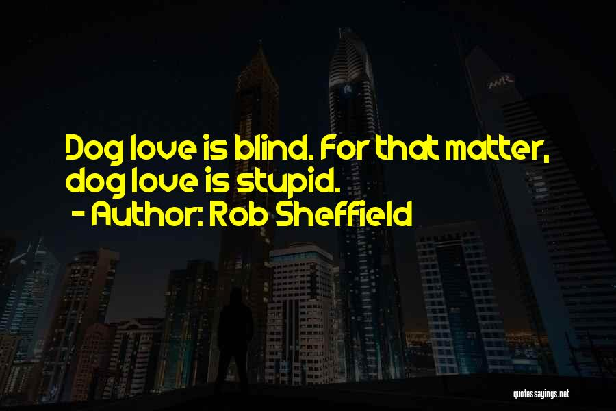 Stupid But Funny Quotes By Rob Sheffield