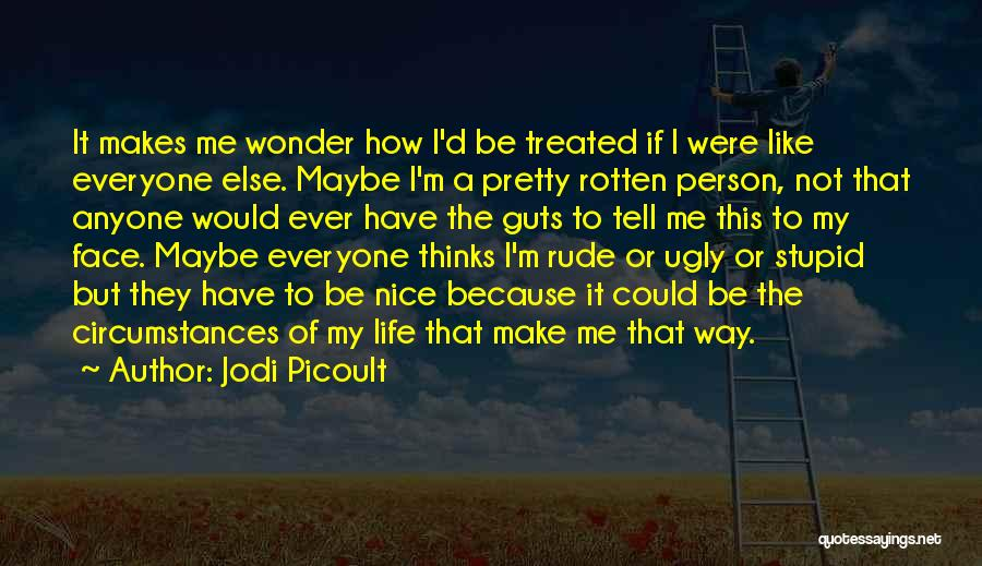 Stupid Rude Quotes By Jodi Picoult