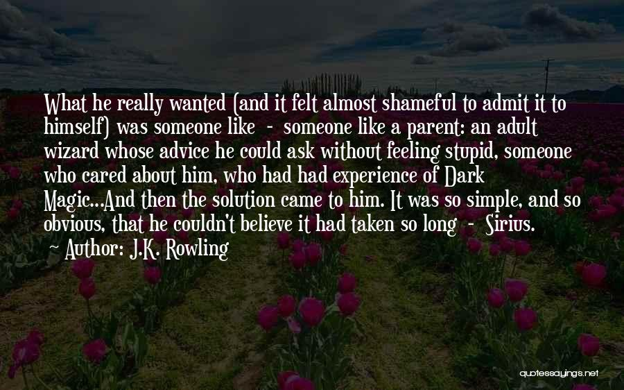 Stupid Simple Quotes By J.K. Rowling