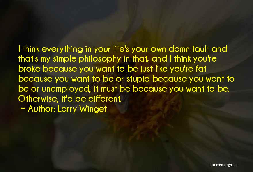 Stupid Simple Quotes By Larry Winget