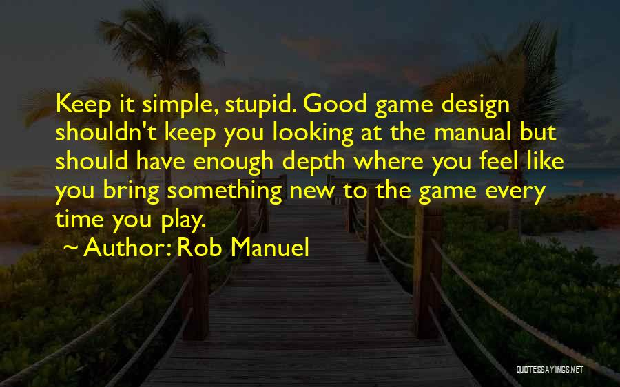 Stupid Simple Quotes By Rob Manuel