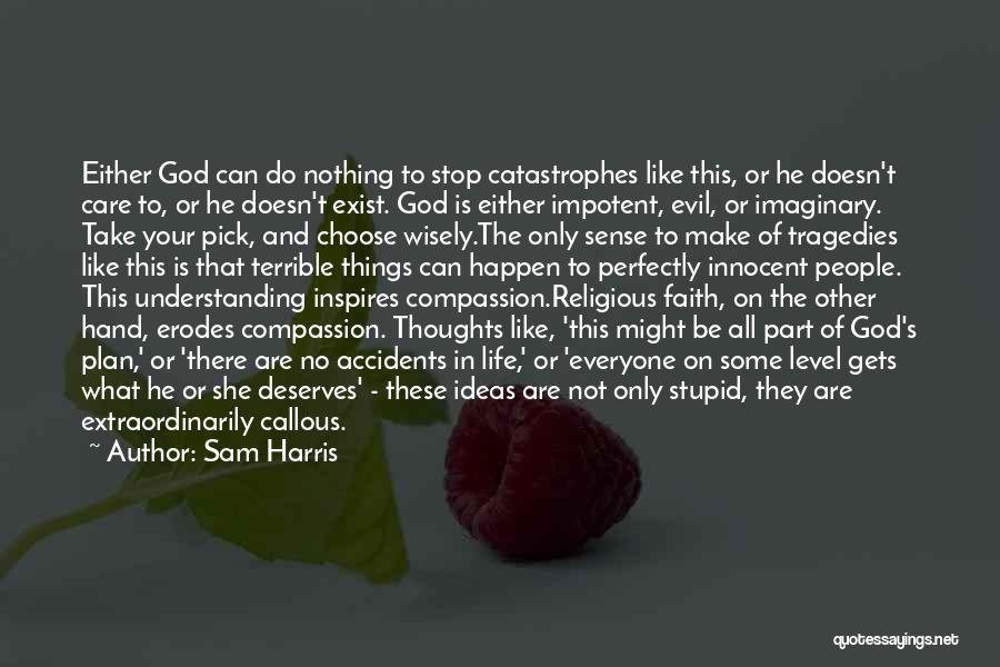 Stupid Things Happen Quotes By Sam Harris