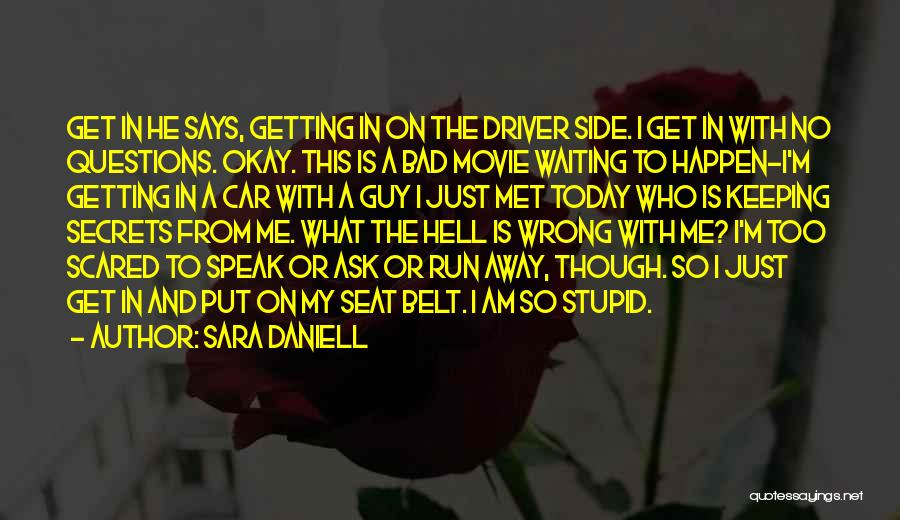 Stupid Things Happen Quotes By Sara Daniell