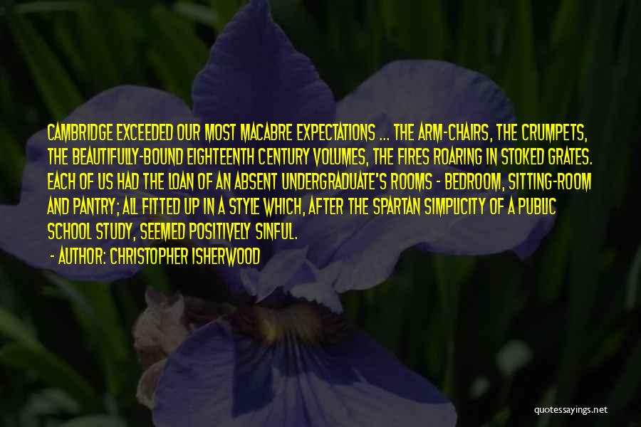 Style And Simplicity Quotes By Christopher Isherwood