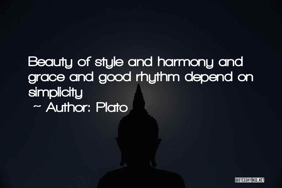 Style And Simplicity Quotes By Plato