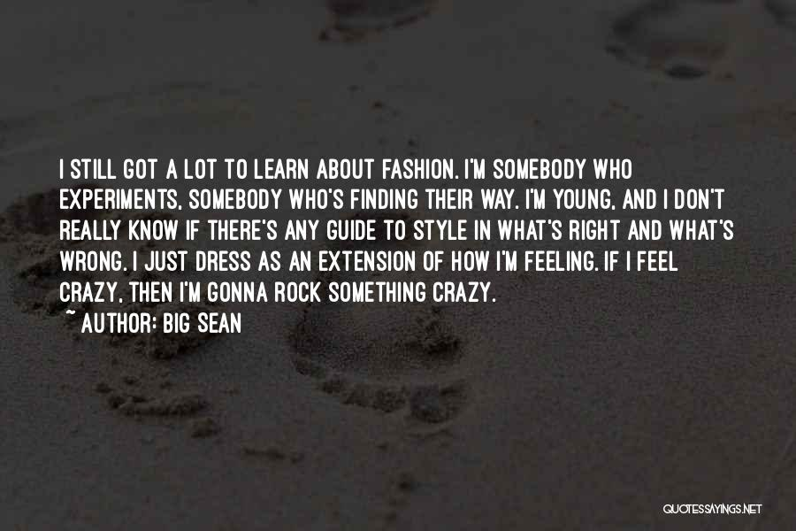 Style Guide For Quotes By Big Sean