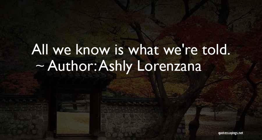 Subjectivity Of Reality Quotes By Ashly Lorenzana