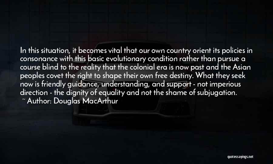 Subjugation Quotes By Douglas MacArthur