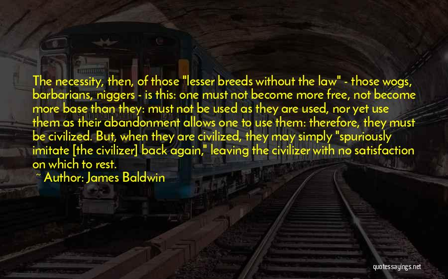 Subjugation Quotes By James Baldwin