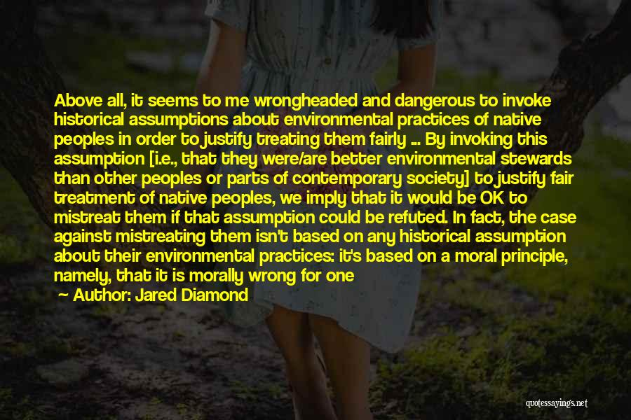 Subjugation Quotes By Jared Diamond