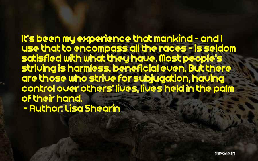 Subjugation Quotes By Lisa Shearin