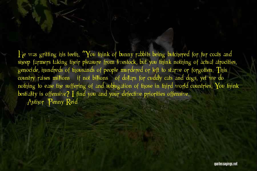Subjugation Quotes By Penny Reid