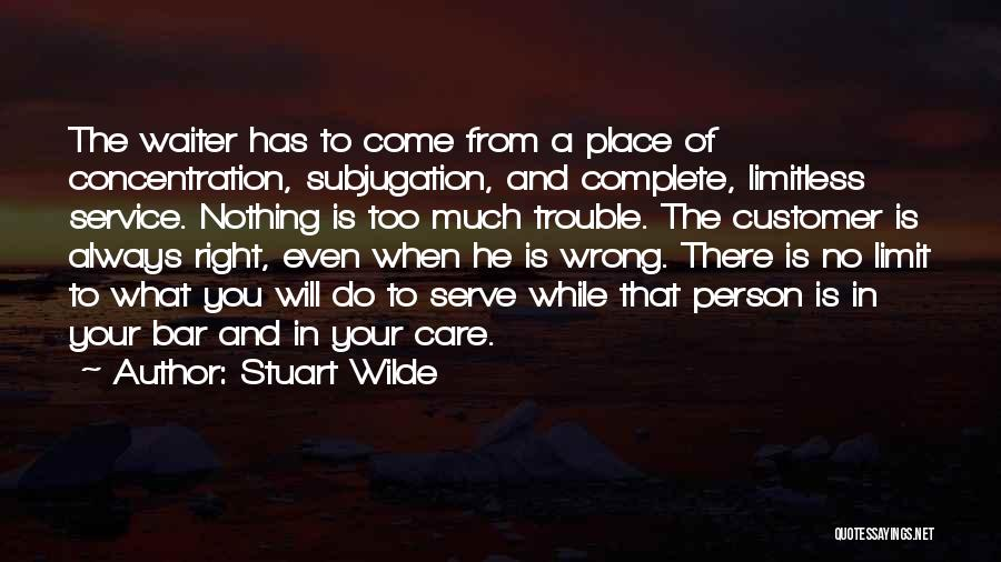 Subjugation Quotes By Stuart Wilde