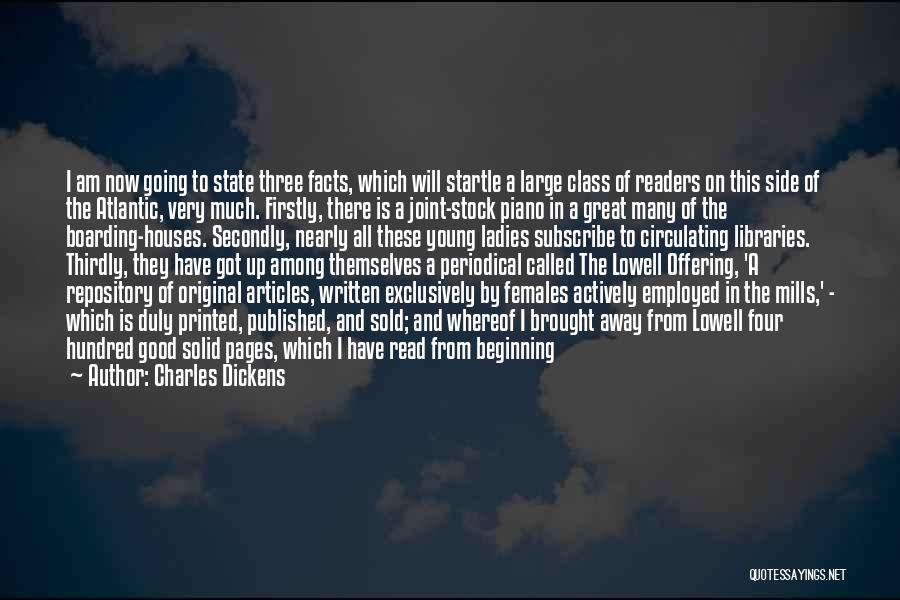 Subscribe Good Quotes By Charles Dickens