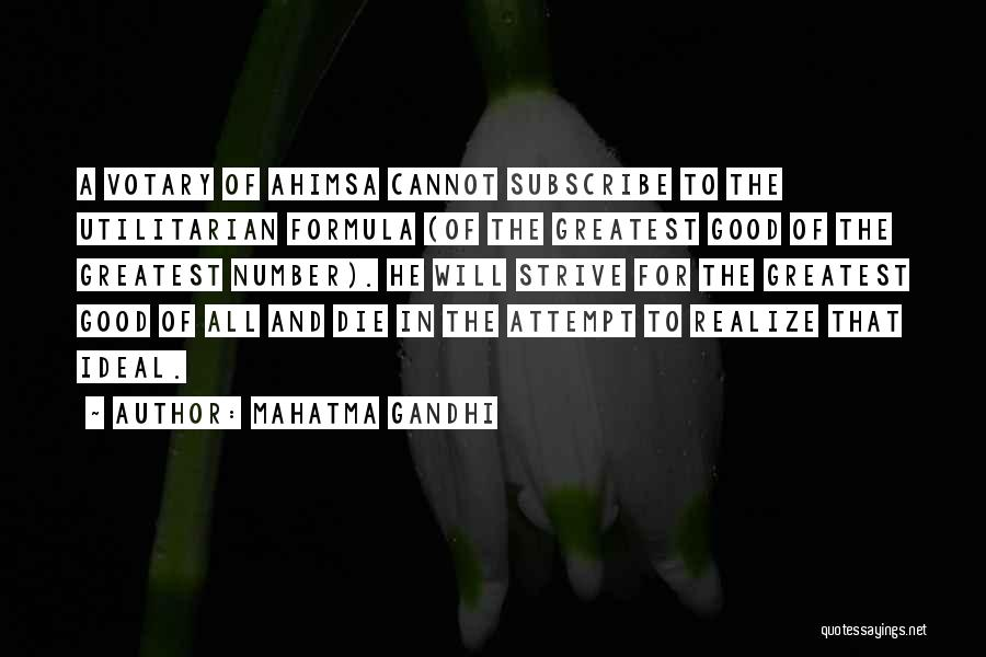 Subscribe Good Quotes By Mahatma Gandhi