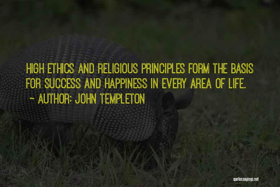 Success And Happiness Quotes By John Templeton