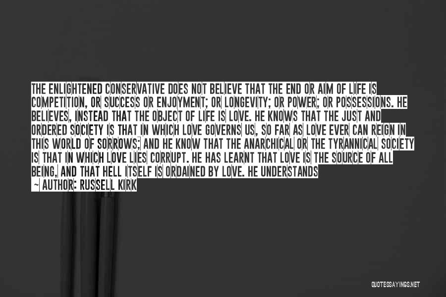 Success And Happiness Quotes By Russell Kirk
