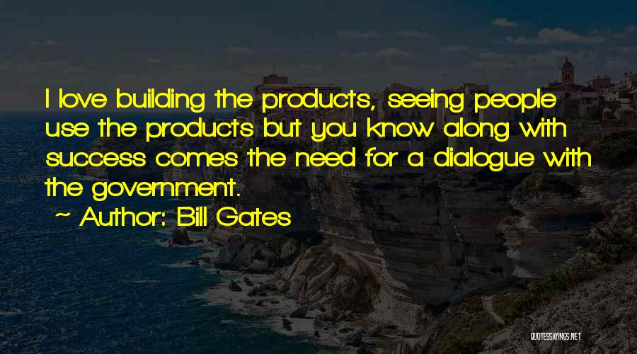 Success Comes Quotes By Bill Gates