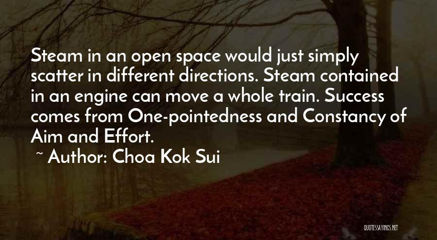 Success Comes Quotes By Choa Kok Sui