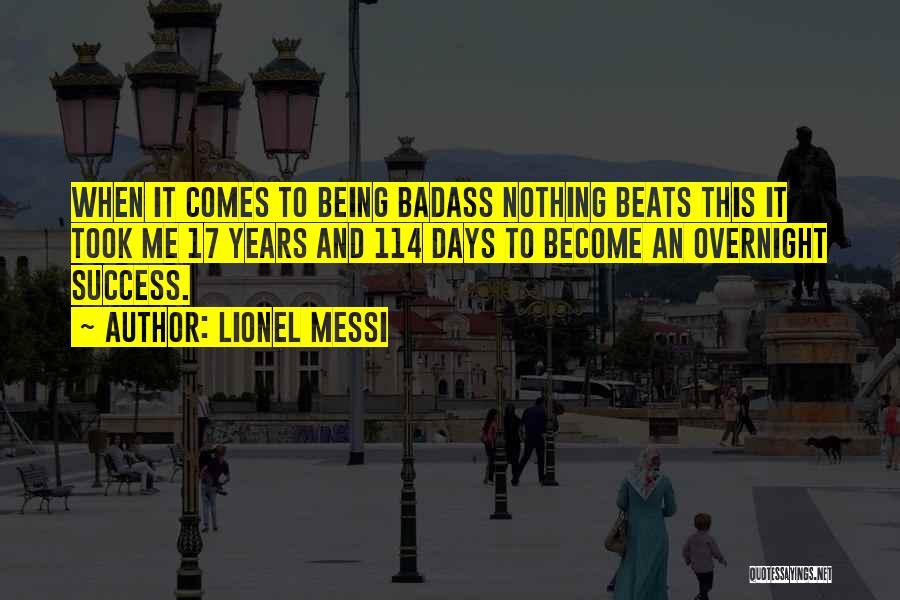Success Comes Quotes By Lionel Messi