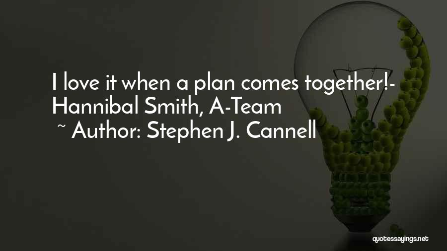 Success Comes Quotes By Stephen J. Cannell